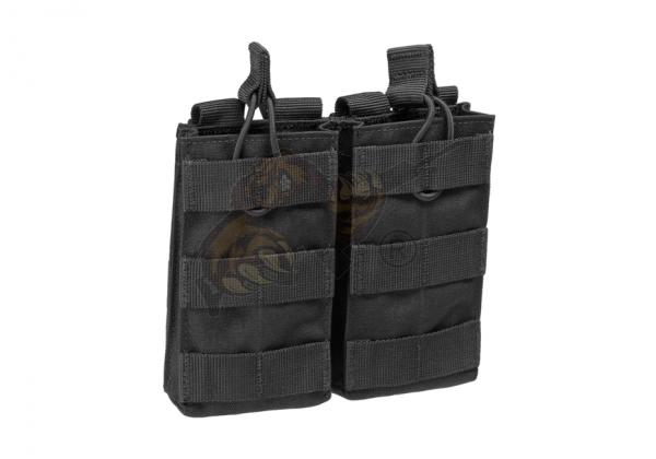 M4 Double Open-Top Mag Pouch Black - Condor