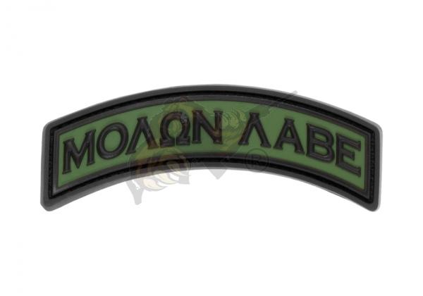 JTG - Molon Labe Tab Rubber Patch Forest