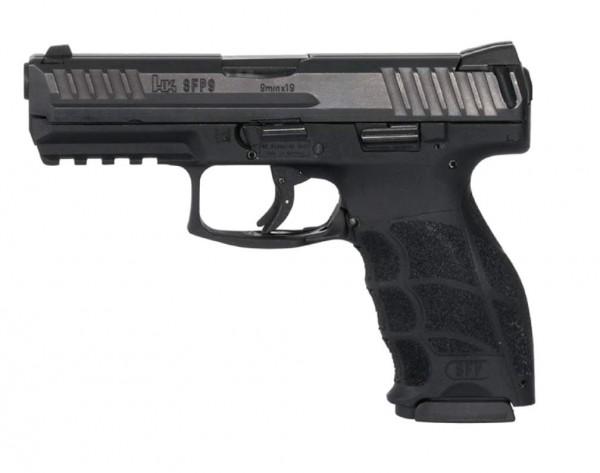 HK SFP9-SF Tactical, 9mm Luger Schwarz