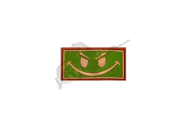 JTG - Evil Smiley Rubber Patch Multicam