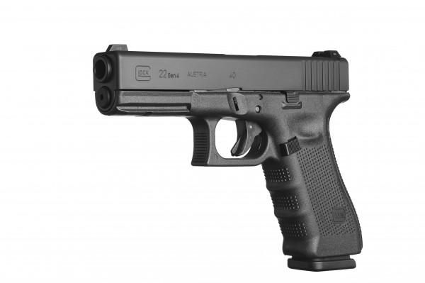 Glock 22 Gen 4 im Kaliber .40 Schwarz - Glock