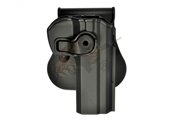 Roto Paddle Holster CZ75 / CZ75B Compact Schwarz (rechts) - IMI Defence