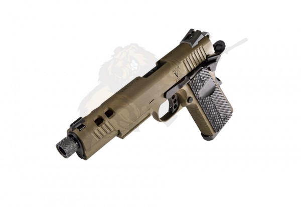 Secutor Rudis V M1911 Custom Pistol -Acta non Verba- Bronze -F-