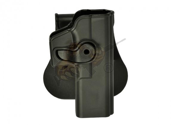 Roto Paddle Holster für Glock 17 Schwarz (rechts) - IMI Defence