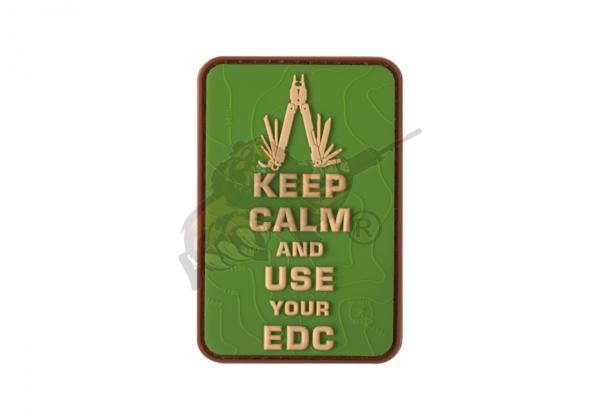 JTG - Keep Calm EDC Rubber Patch Multicam