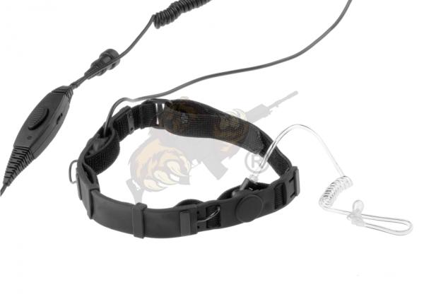 SWAT Tactical Throat Mic Set for Motorola Talkabout