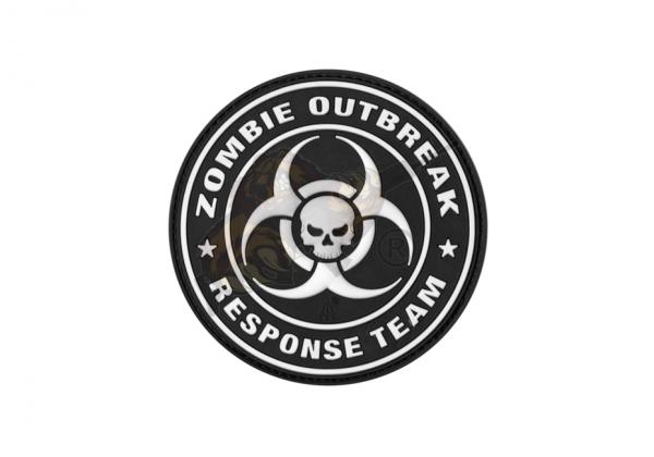 Zombie Outbreak Rubber Patch SWAT - JTG