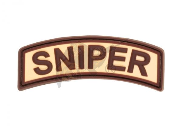 JTG - Sniper Tab - Patch, Desert / 3D Rubber patch