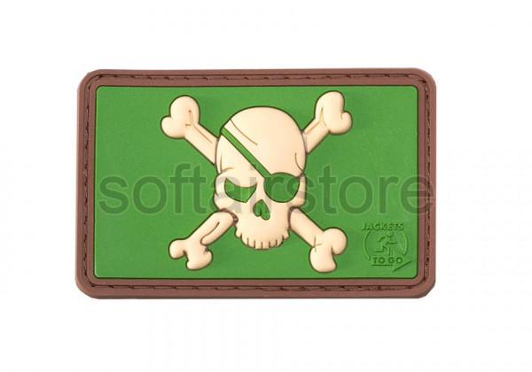 JTG - Pirate Skull patch, multicam