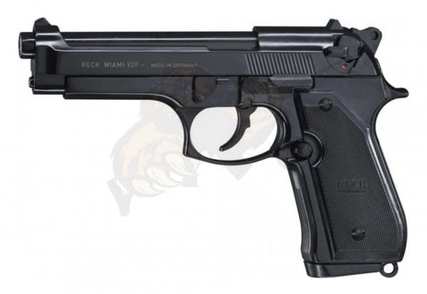 Reck Miami 92 F Schreckschuss Pistole cal. 9 mm P.A.K. Schwarz