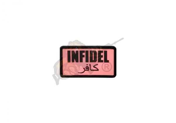 JTG - Infidel Rubber Patch Pink