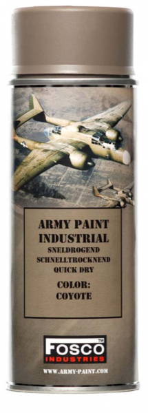 Farbspray Army Paint 400ml Coyote- Fosco Industries