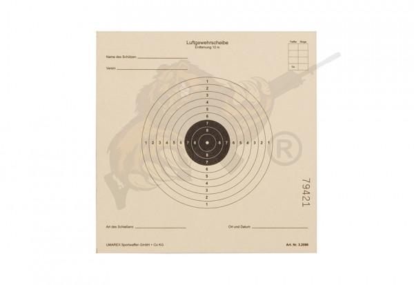 Paper Targets 14x14cm 50pcs - Umarex