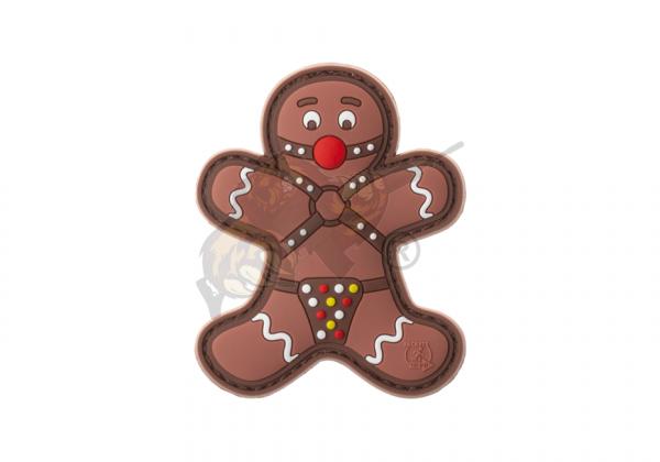 Gingerbread Rubber Patch Fullcolor - JTG