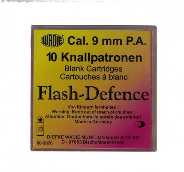 Wadie Flash Defence Patronen cal. 9 mm P.A.K. - 10 Schuss