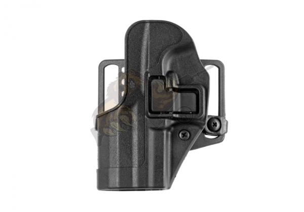 CQC SERPA Holster USP Compact Links in Schwarz - Blackhawk