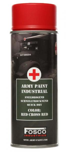 Farbspray Army Paint 400ml Rotes Kreuz Rot- Fosco Industries