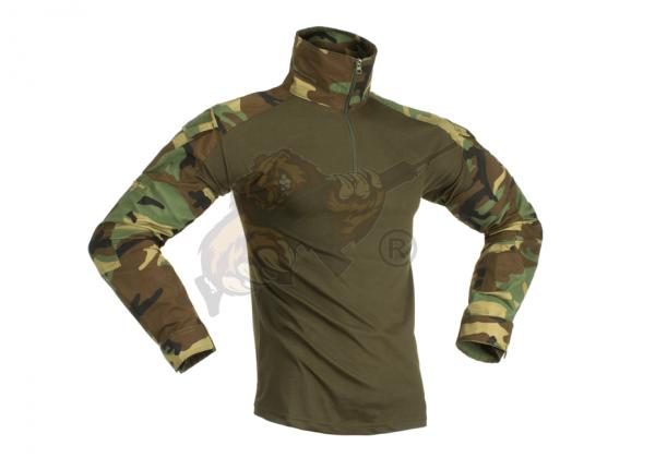 Combat Shirt Woodland - Invader Gear