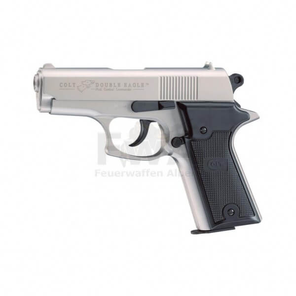 Colt Double Eagle Combat Commander Schreckschuss Pistole cal. 9 mm P.A.K. (Nickel)