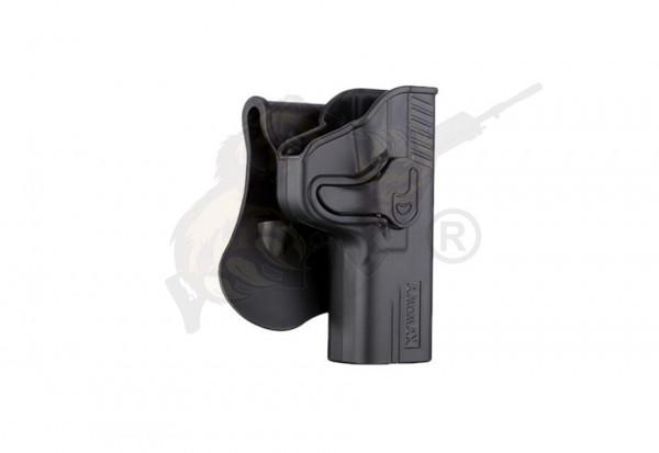 Amomax Holster (AM-MP9G2) für TM / WE / VFC M&P9 Serie - Black