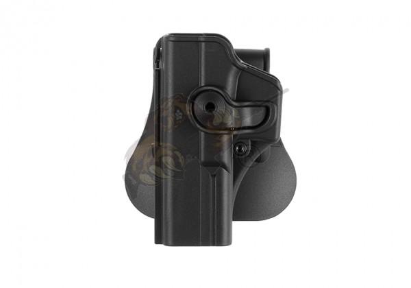Roto Paddle Holster für Glock 17 Schwarz (links) - IMI Defence