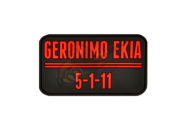 JTG - Geronimo EKIA Rubber Patch Blackmedic