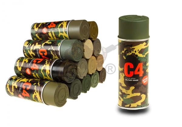 C4 Mil Grade Color Spray in RAL 6031 - Armamat