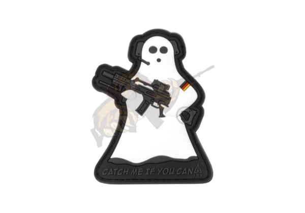 JTG - CMIYC Ghost Sniper Patch, fullcolor / 3D Rubber patch