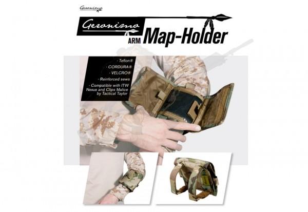 Arm Map Holder Schwarz - Geronimo