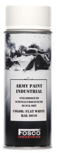 Farbspray Army Paint 400ml Matt Weiß- Fosco Industries
