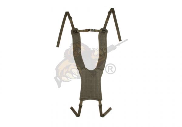 4-Point H-Harness Ranger Green - Templar's Gear