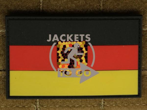 JTG - Deutschlandflagge - Patch, groß mit B.Adler, fullcolor