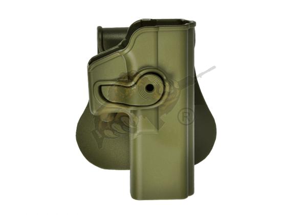 Roto Paddle Holster für Glock 17/22/28/31 Oliv (rechts) - IMI Defence