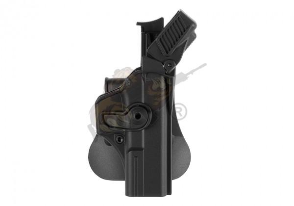Level 3 Retention Holster für Glock 17 Schwarz (rechts) - IMI Defence