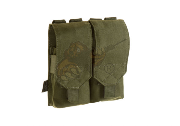 5.56 2x Double Mag Pouch in oliv - Invader Gear