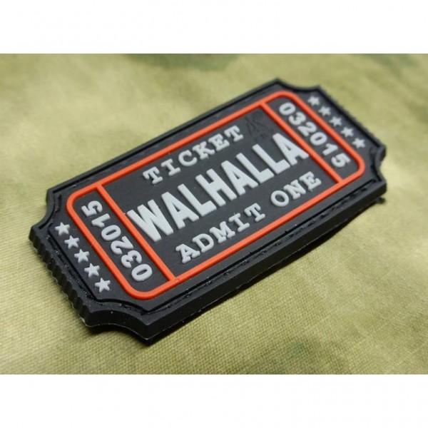 JTG - Walhalla Ticket Patch, swat / 3D Rubber patch