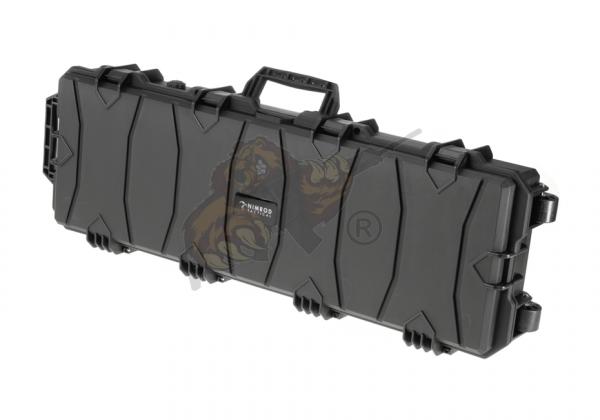 Gewehrkoffer 100cm Schwarz mit PNP Schaumeinlage - Nimrod