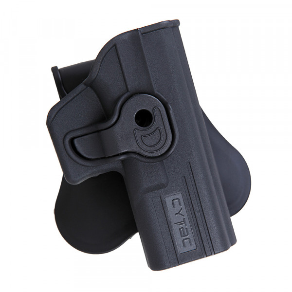 Cytac Holster für Glock 19/23/32 (für Gen 1,2,3,4) Schwarz