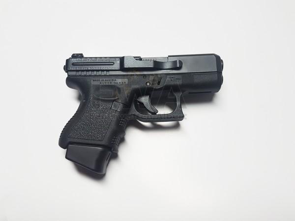 Glock 26 Gen 3 mit Carry-Clipund 4 Magazinen Kaliber 9 x 19 Schwarz (Gebraucht) - Glock