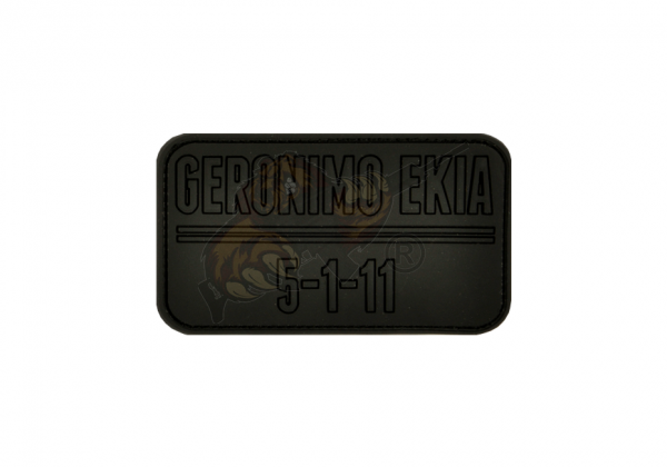 JTG - Geronimo EKIA Rubber Patch Black