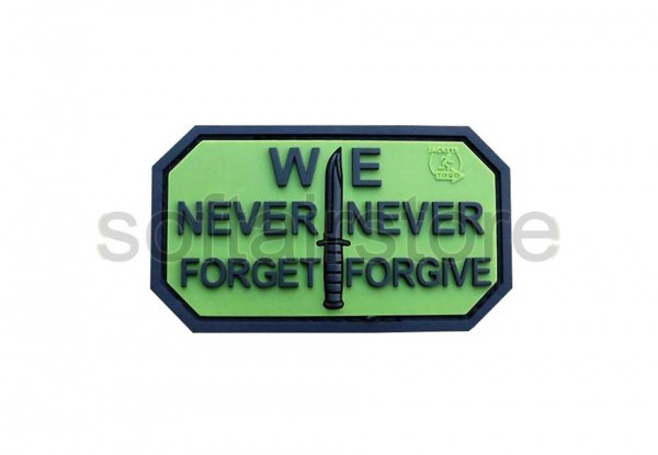 JTG - We Never Forget Patch, forest