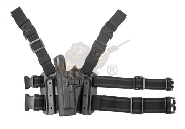 SERPA Holster Set Beretta 92/96/M9/M9A1 in schwarz Links - Blackhawk