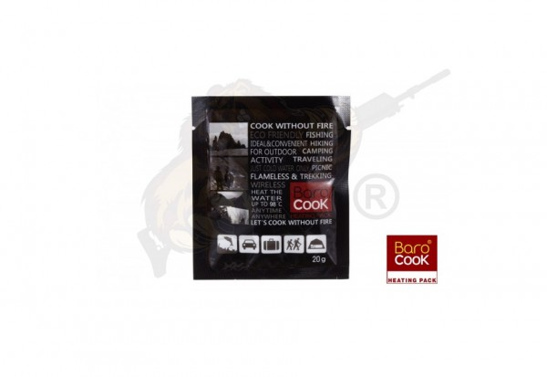 Barocook Hitzepack 20g - bis zu 98° C - Einzeln