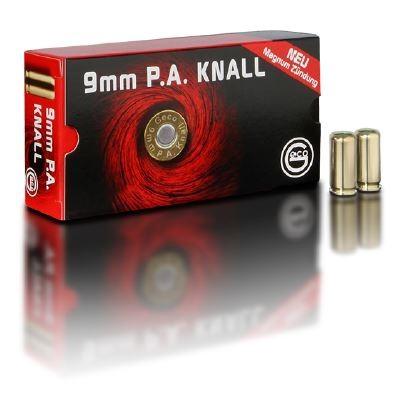 Geco Platzpatronen cal. 9 mm P.A.K. - 50 Schuss