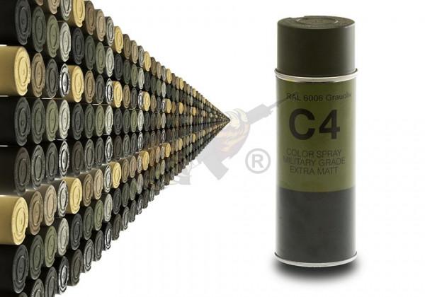 C4 Mil Grade Color Spray in RAL 6006 Grauoliv - Armamat