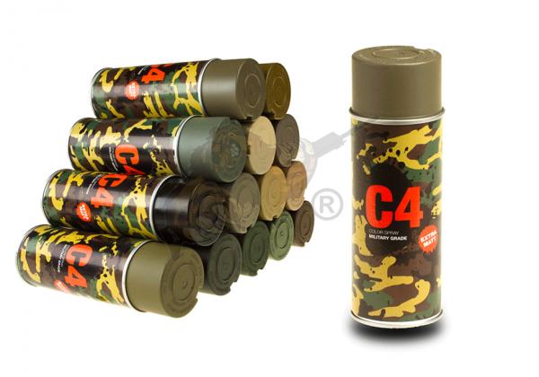 C4 Mil Grade Color Spray in TAN 499 - Armamat