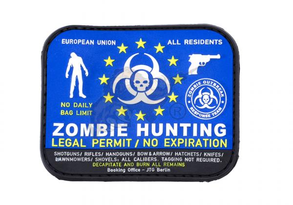 JTG - Zombie Hunter Rubber Patch