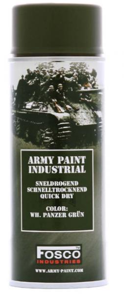 Farbspray Army Paint 400ml WH Panzer Grün- Fosco Industries