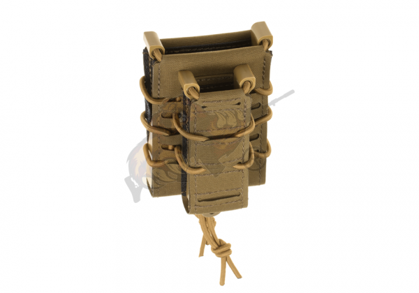 Fast Rifle and Pistol Magazine Pouch Coyote - Templar´s Gear