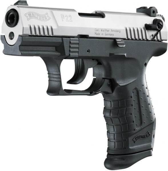 Walther P22 Schreckschuss Pistole cal. 9 mm P.A.K. Bicolor